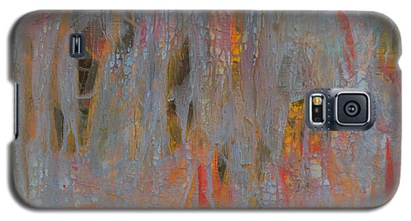 Galaxy S5 Case featuring the painting Fibres Of My Being by Mini Arora