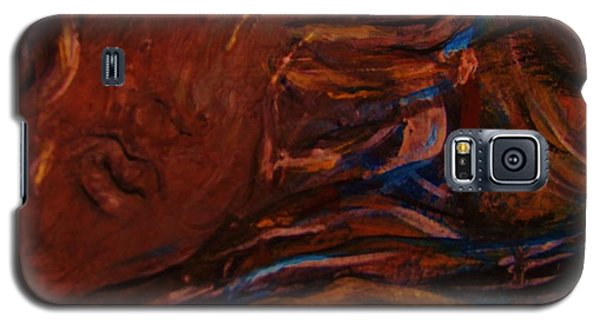 Galaxy S5 Case featuring the painting Fidelas Story by Dawn Fisher