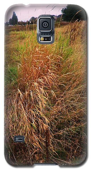 Galaxy S5 Case featuring the photograph Field And Farm by Suzanne McKay