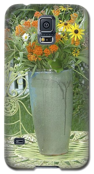 Field Flowers At The Mill Galaxy S5 Case by Delona Seserman