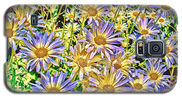 Galaxy S5 Case featuring the photograph Field Of Colorful Flowers by William Havle