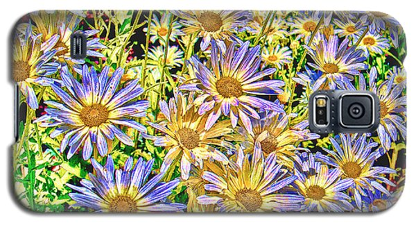 Field Of Colorful Flowers Galaxy S5 Case by William Havle