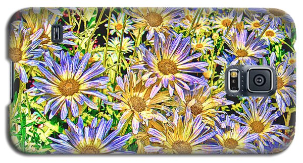 Field Of Colorful Flowers Galaxy S5 Case