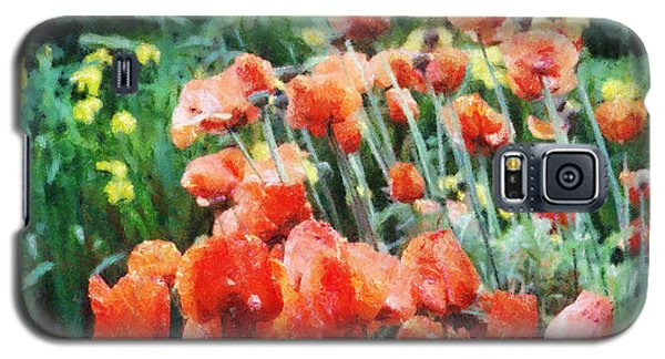 Field Of Flowers Galaxy S5 Case by Jeff Kolker