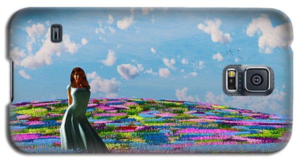 Field Of Flowers... Galaxy S5 Case