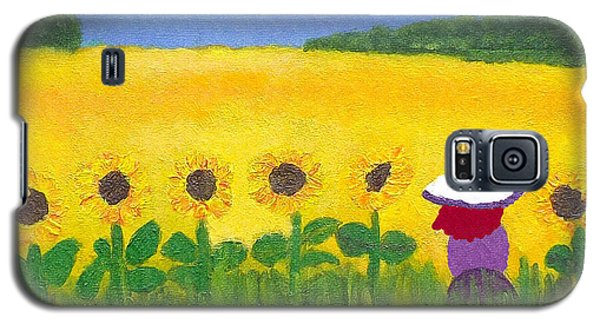 Field Of Gold Galaxy S5 Case