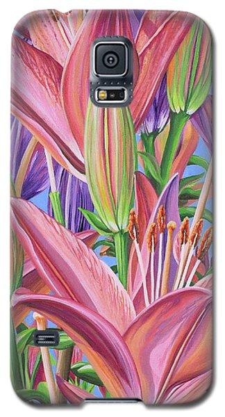 Field Of Lilies Galaxy S5 Case