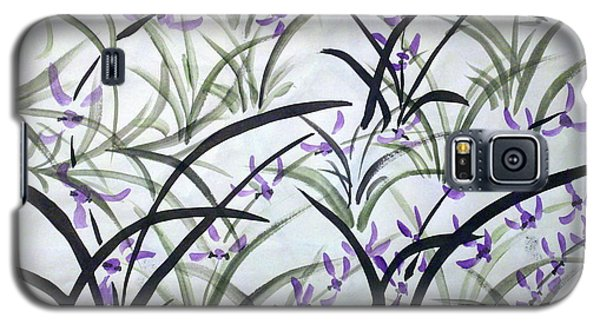 Field Of Orchids Galaxy S5 Case