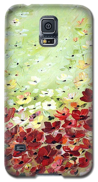 Field Of Poppies Galaxy S5 Case by Dorothy Maier