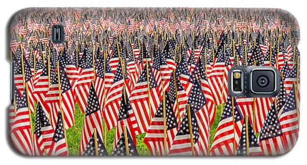 Field Of Us Flags Galaxy S5 Case
