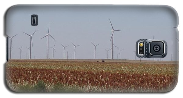 Galaxy S5 Case featuring the photograph Field Of Wind by Fortunate Findings Shirley Dickerson