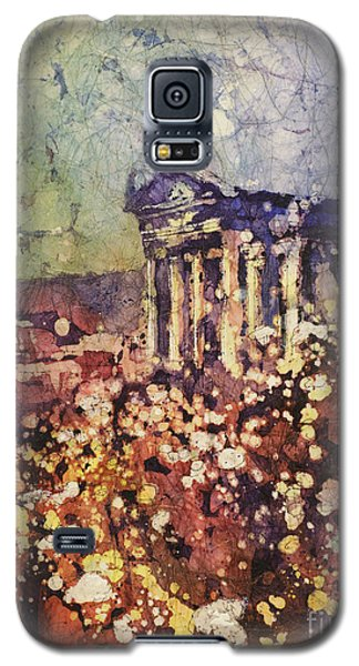 Fields Of Flower- And Roman Temple Galaxy S5 Case