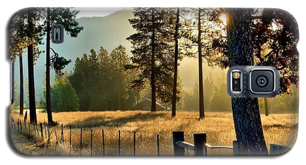Galaxy S5 Case featuring the photograph Fields Of Gold by Julia Hassett