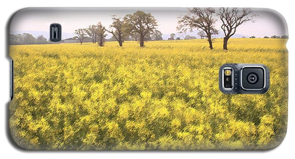 Fields Of Yellow Galaxy S5 Case by Ron Harpham