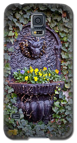 Galaxy S5 Case featuring the photograph Fierce Garden by Jean Haynes