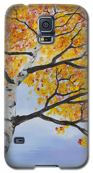 Fiery Aspen Galaxy S5 Case