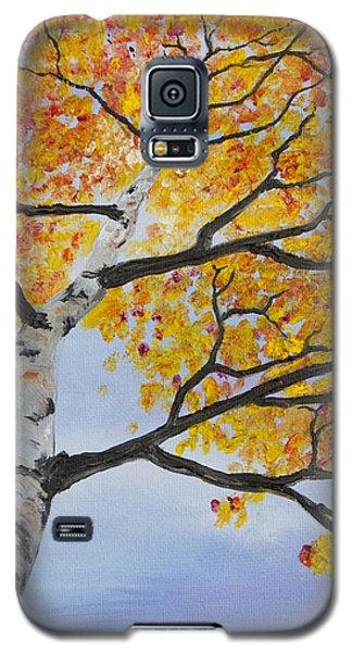Fiery Aspen Galaxy S5 Case