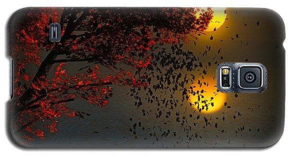 Fiery Fall... Galaxy S5 Case