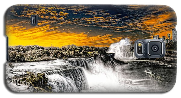 Fiery Niagara Falls Galaxy S5 Case