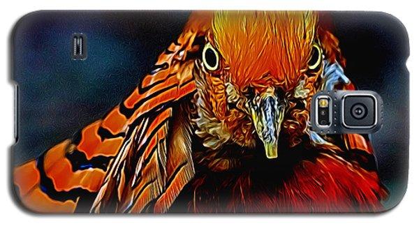 Fiery Pheasant Galaxy S5 Case