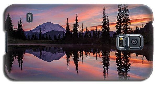 Fiery Rainier Sunset Galaxy S5 Case