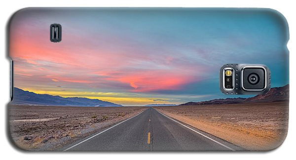 Fiery Road Though The Valley Of Death Galaxy S5 Case
