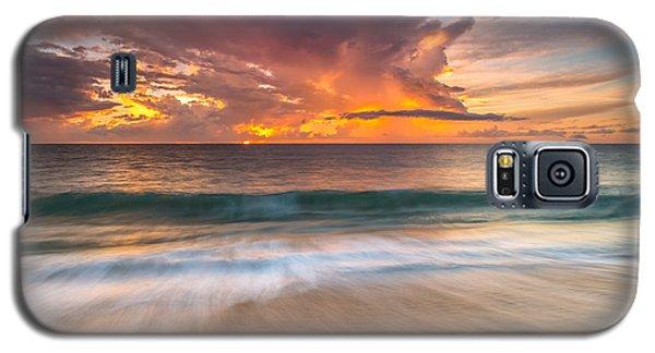 Fiery Skies Azure Waters Rendezvous Galaxy S5 Case