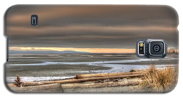 Fiery Sky Over The Salish Sea Galaxy S5 Case