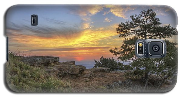 Fiery Sunrise From Atop Mt. Nebo - Arkansas Galaxy S5 Case