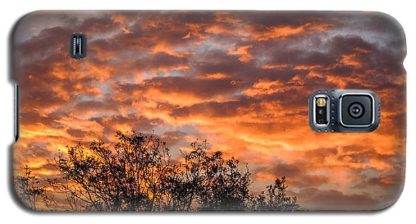 Fiery Sunrise Over County Clare Galaxy S5 Case