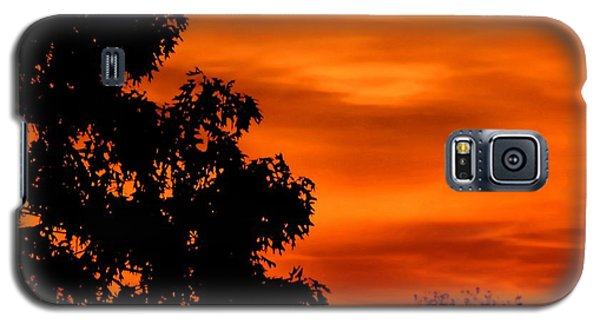 Fiery Sunset Galaxy S5 Case