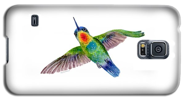 Fiery-throated Hummingbird Galaxy S5 Case by Amy Kirkpatrick