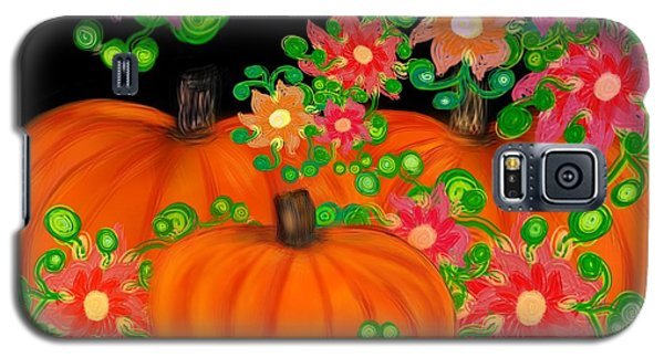 Fiesta Pumpkins Galaxy S5 Case by Christine Fournier