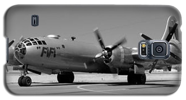 Fifi.  Enola Gay's B29 Superfortress Sister Visits Modesto Kmod. Galaxy S5 Case