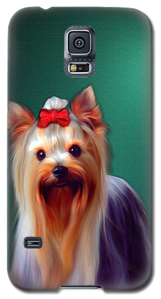 Galaxy S5 Case featuring the painting Fifi by Tyler Robbins