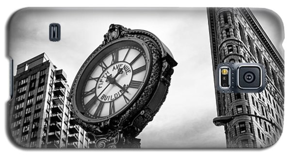 Fifth Avenue Building Clock Galaxy S5 Case