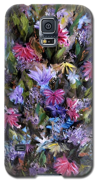 Fighting For Space Lll Flowerpatch Series Galaxy S5 Case