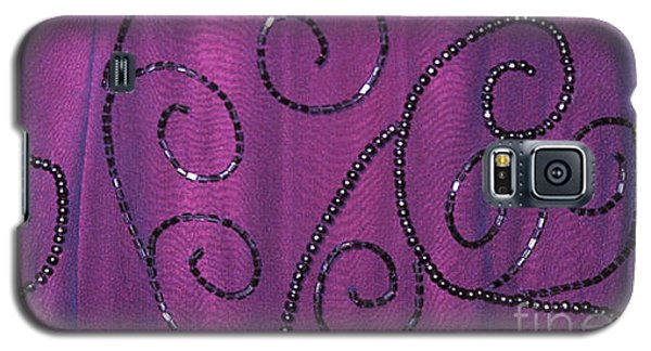 Fighting Sequins Horizontal Galaxy S5 Case by Heather Kirk