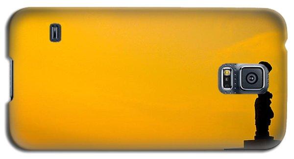 Figure At Dusk Galaxy S5 Case by David Warrington