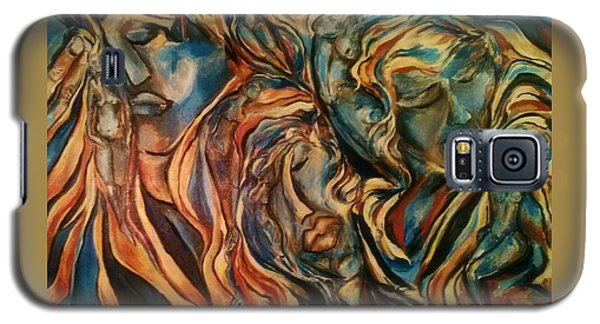 Figures Of  Beauty Galaxy S5 Case by Dawn Fisher