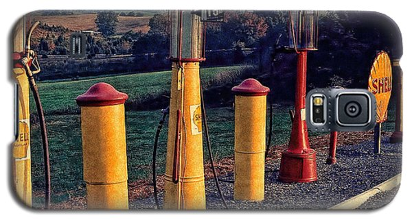 Fill 'er Up Vintage Fuel Gas Pumps Galaxy S5 Case