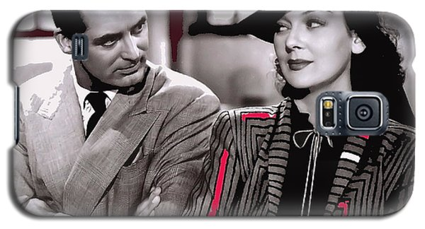 Film Homage Cary Grant Rosalind Russell Howard Hawks His Girl Friday 1940-2008 Galaxy S5 Case