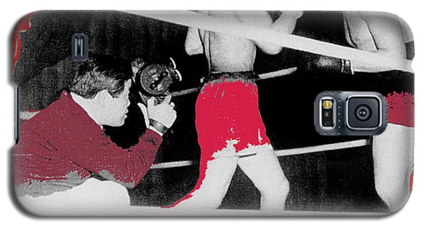 Film Noir Cinematographer James Wong Howe John Garfield Body And Soul 1947 Color Added 2013 Galaxy S5 Case