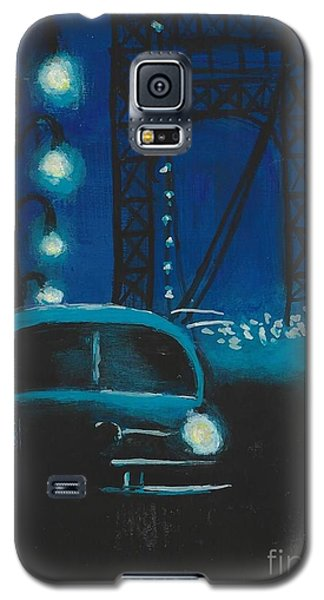 Film Noir In Blue #1 Galaxy S5 Case