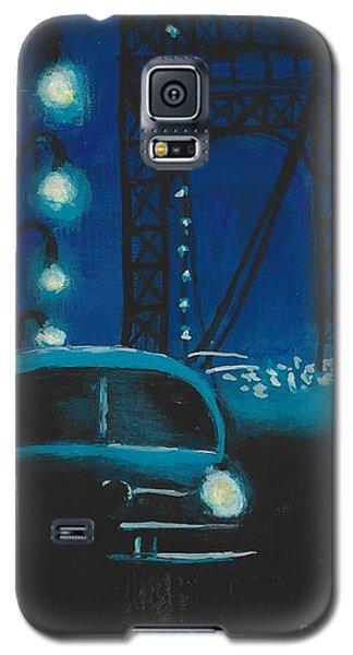 Film Noir In Blue #1 Galaxy S5 Case