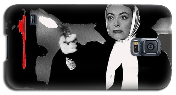 Film Noir Joan Crawford Jack Palance Sudden Fear 1952 Rko Publicity Photo Color Added 2012 Galaxy S5 Case