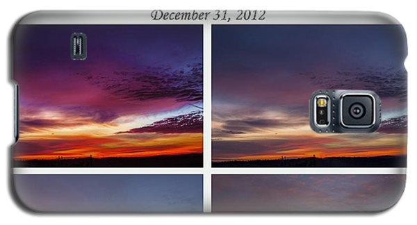 Final 2012 Sunrise Combo Galaxy S5 Case