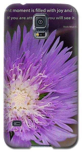 Galaxy S5 Case featuring the digital art Finding Joy And Happiness by Lena Wilhite
