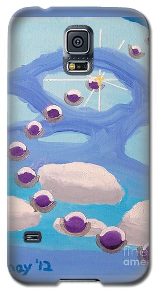 Galaxy S5 Case featuring the painting Finding Personal Peace by Rod Ismay