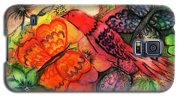 Galaxy S5 Case featuring the painting Finding Sanctuary by Hazel Holland